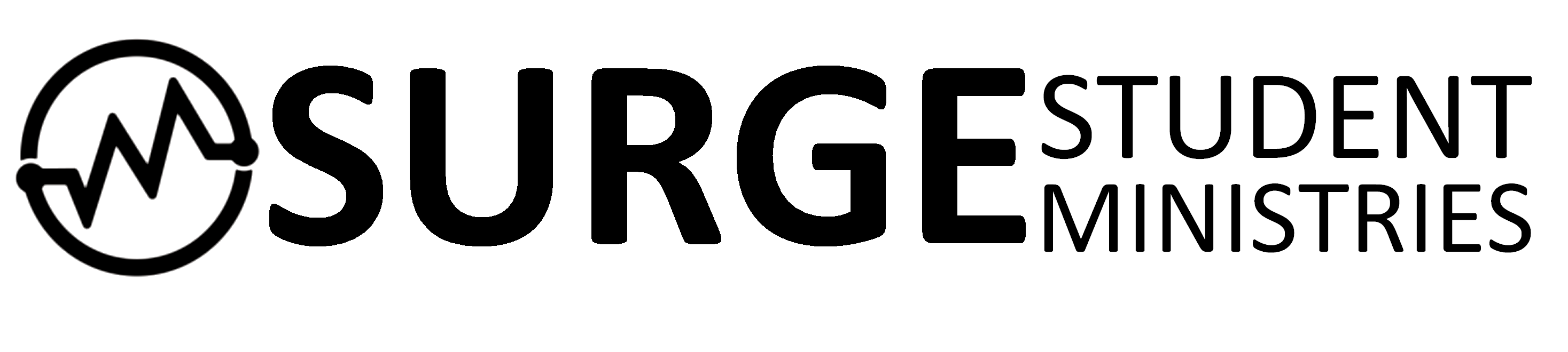 SURGE Logo Black on Transp